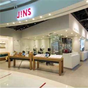 jins眼镜形象店