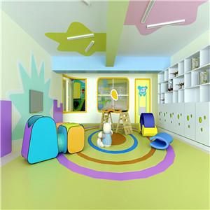 天线宝宝早教中心设计风格