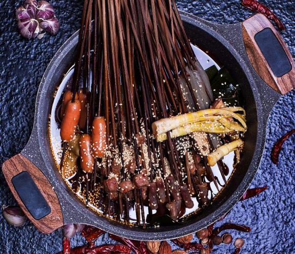 七角小串火锅串串菜品