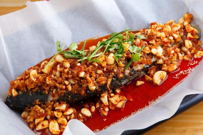 花椒餐饮纸包鱼