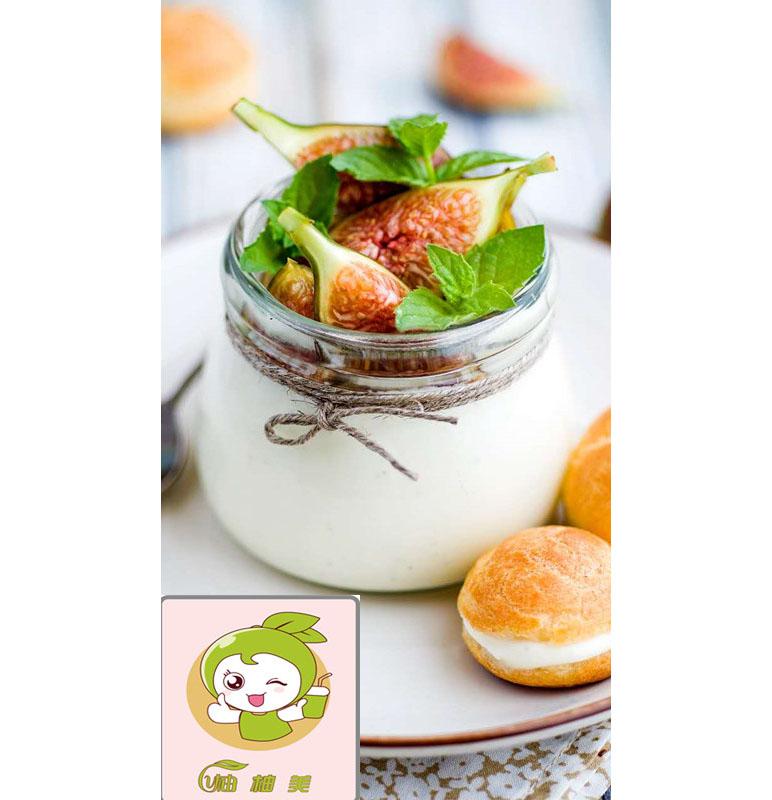 柚柚美奶茶酸奶