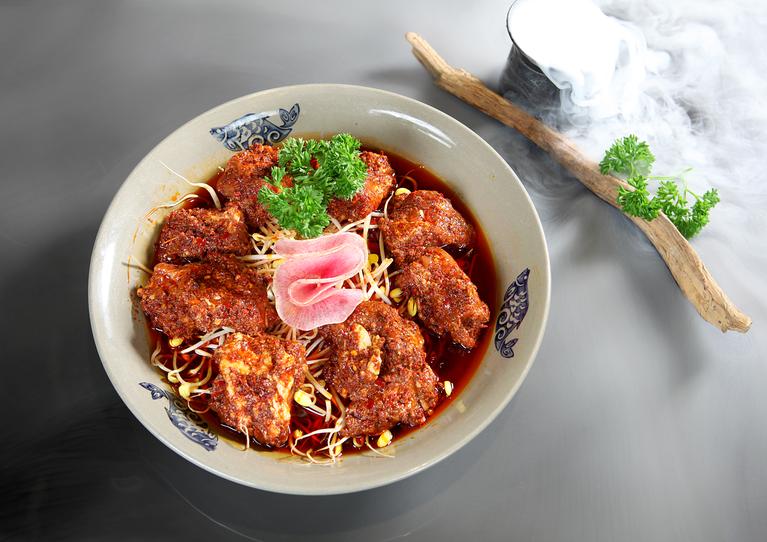 渝大獅老火鍋菜品展示