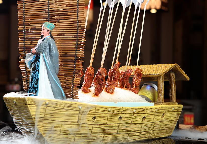 渝大獅老火鍋經典菜品