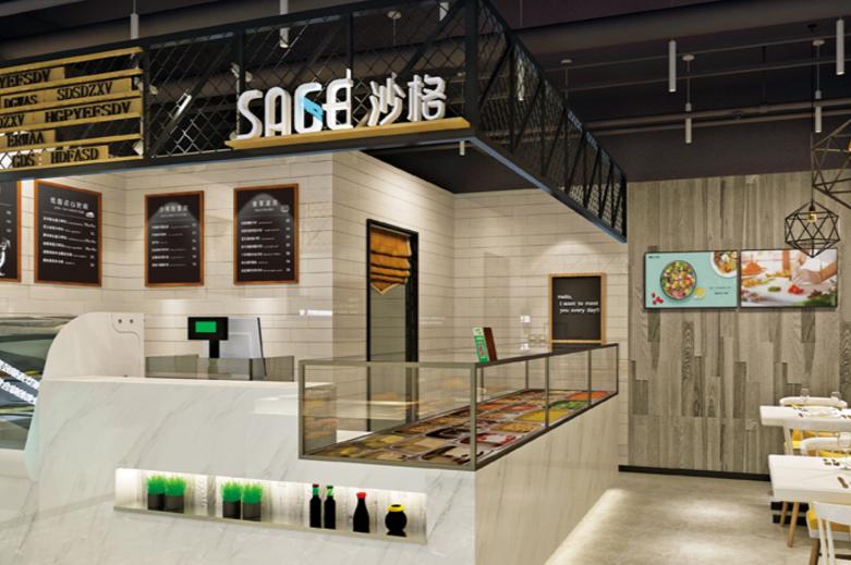 沙格轻食门店