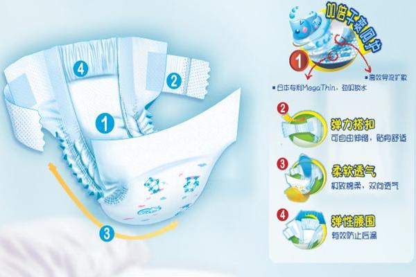 菲比纸尿裤 产品性能