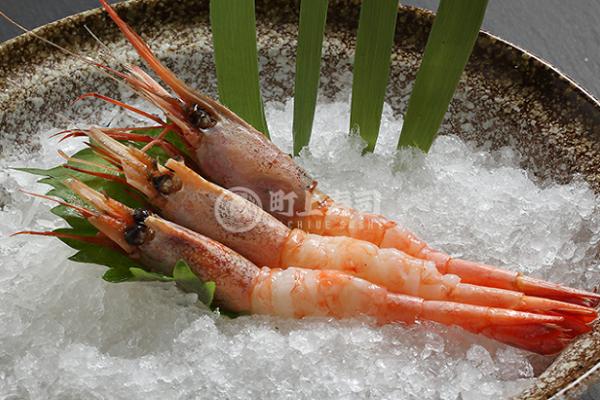 町上寿司鲜虾