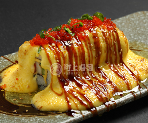 町上寿司酱汁三文鱼