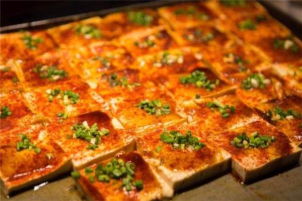 鐵板香豆腐美味