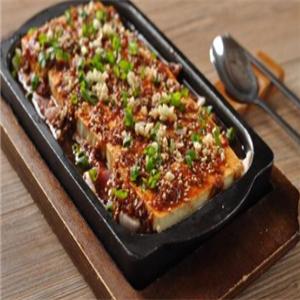 鐵板香豆腐美觀