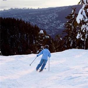 南山滑雪锻炼