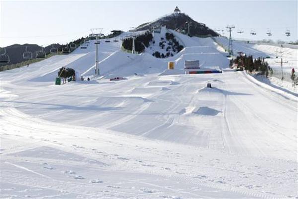 南山滑雪平台