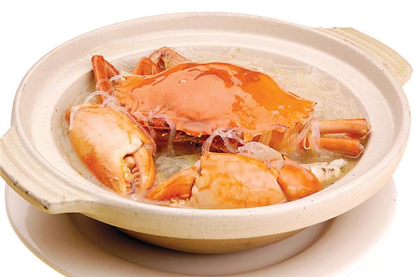 品飞翔蟹煲饭好吃