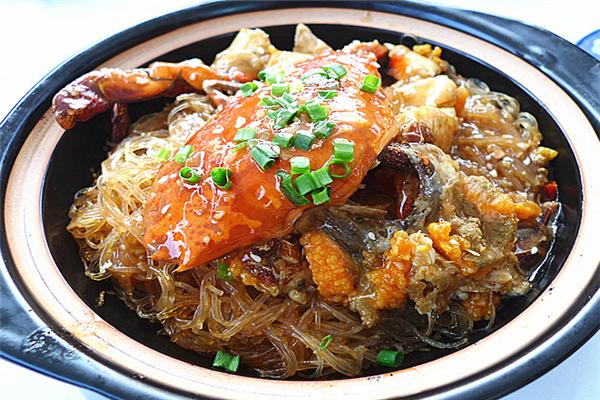 品飞翔蟹煲饭美味