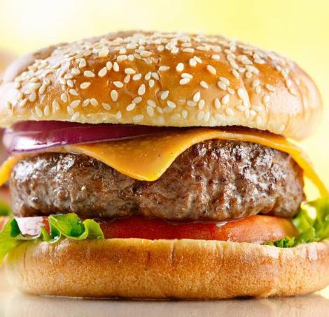 開心漢堡美味