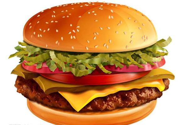 開心漢堡好吃
