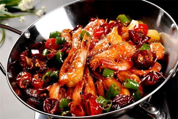 虾嘛威干锅捞香辣