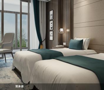 鉑頓國際公寓雙床房