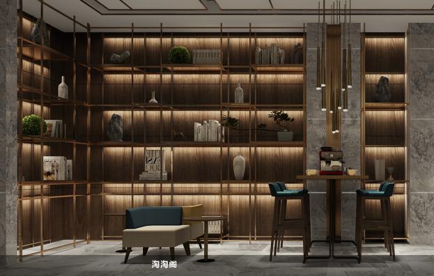 鉑頓國際公寓休息區