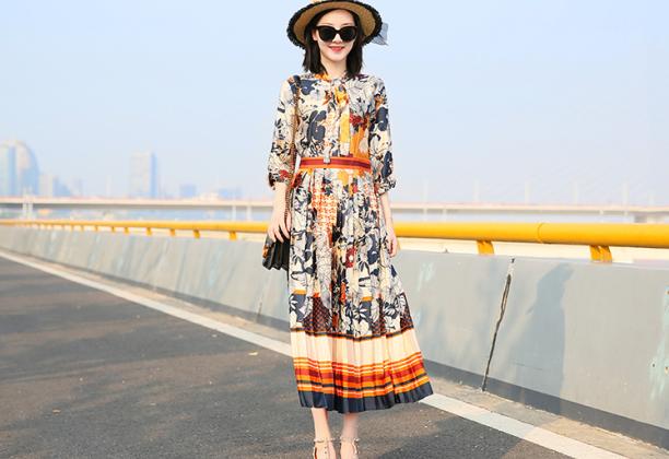 秋之恋裙装