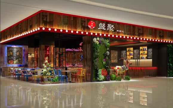 盘聚串串VS烤肉门店