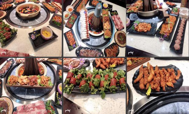 盘聚串串VS烤肉菜式