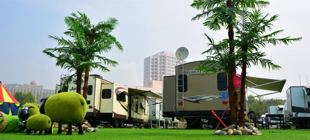 银泰房车,露营地,线路游,房车租赁加盟