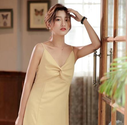 木絲語女裝吊帶裙