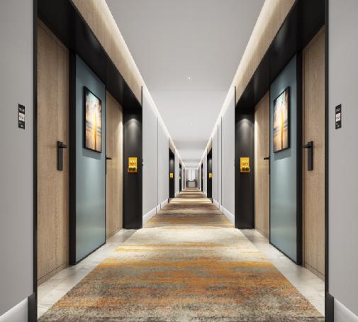 雅閣澳斯特酒店走廊