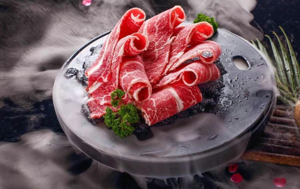 重庆十七门老火锅牛肉卷
