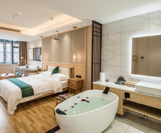 千峋酒店洗浴