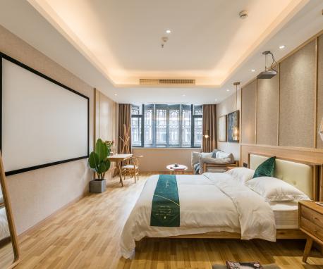 千峋酒店舒適