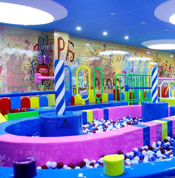 迪乐尼室内儿童乐园游戏