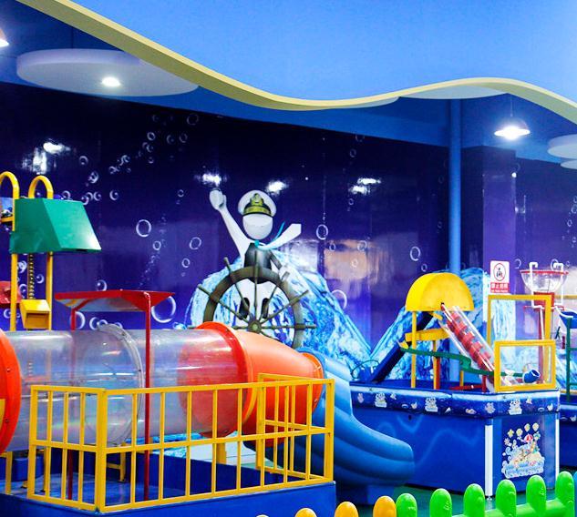 迪樂尼室內兒童樂園場景