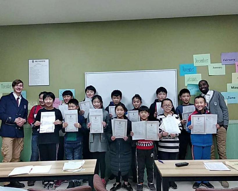 新窗口国际外语学校课堂