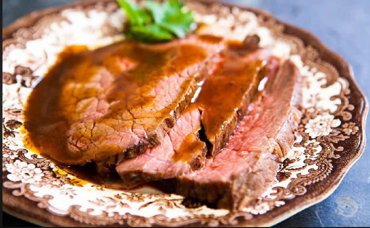 山炮烤牛肉