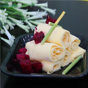 金木槿炒酸奶卷