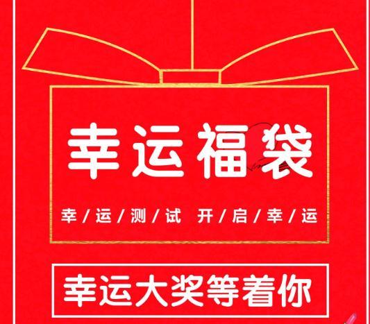 中谷幸运盒子海报