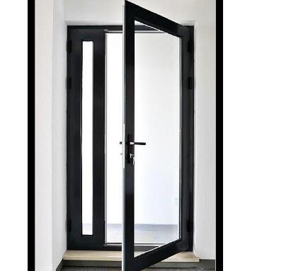 段橋鋁合金門窗黑色