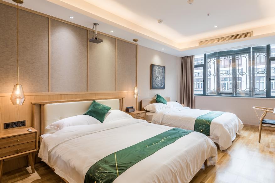 千峋酒店客房內景