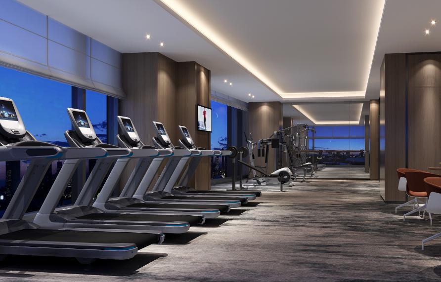 千峋酒店健身房