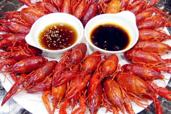 虾庭院坝小龙虾美食