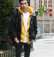 漫天雨男裝夾克