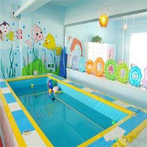 多多爱婴儿游泳馆好看