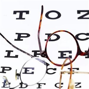 亮一生视力保健字母