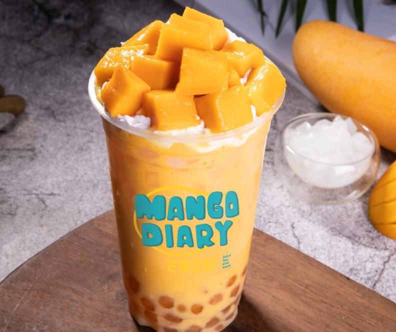芒果日记饮品7