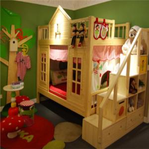 四季缤纷儿童家具床