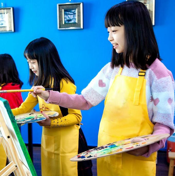 波斯米涂美术教育现场绘画