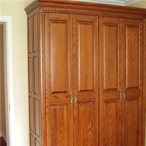 红橡木衣柜实木衣柜