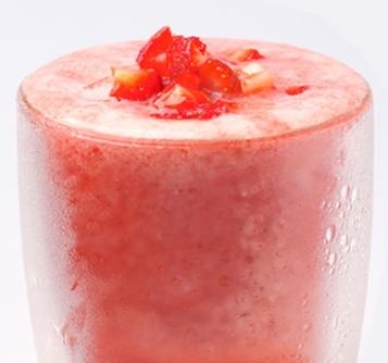 七分甜草莓汁