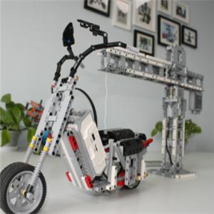 壹号机器人教育自行车